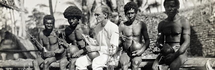 Bronislaw Malinowski en las Islas Trobriand